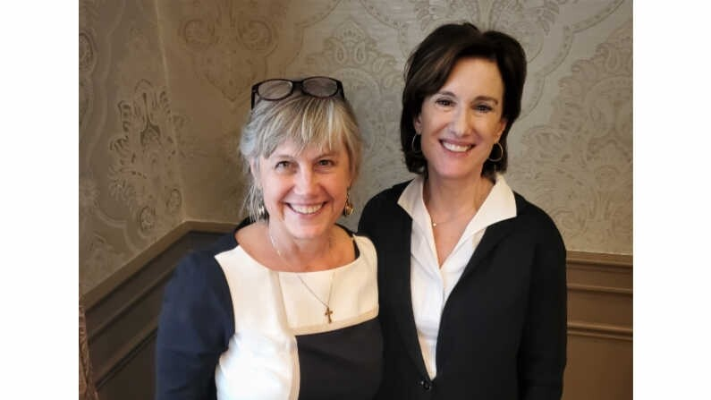 Cheryl Beth and Susan Packard