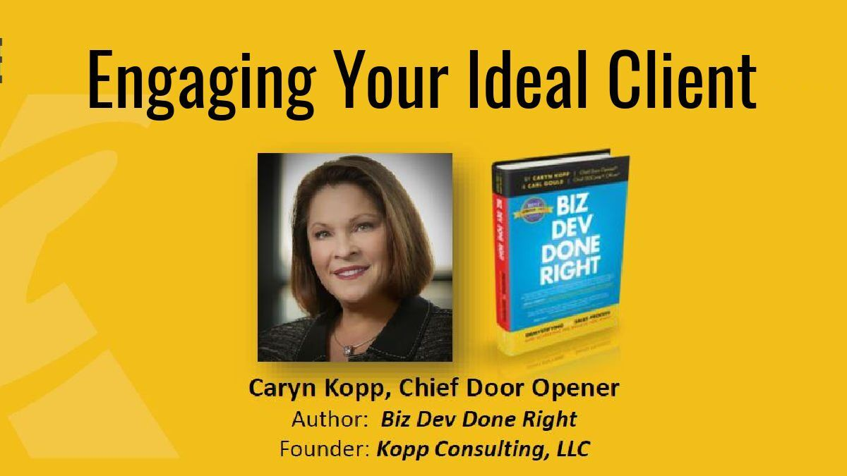Caryn Kopp Engaging Your Ideal Client
