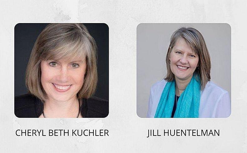 Cheryl Beth Kuchler and Jill Huentelman